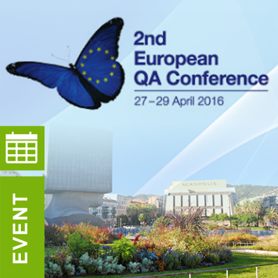 ADAMAS Consulting at the 2nd European QA Conference in Nice, France 27–29th April 2016