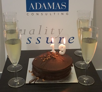 ADAMAS is 19 years old today!