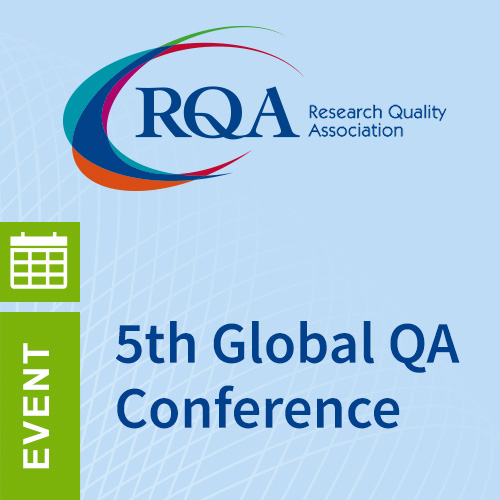 ADAMAS at RQA's 5th Global QA Conference in Edinburgh, UK 1–3 November 2017 Stand#14