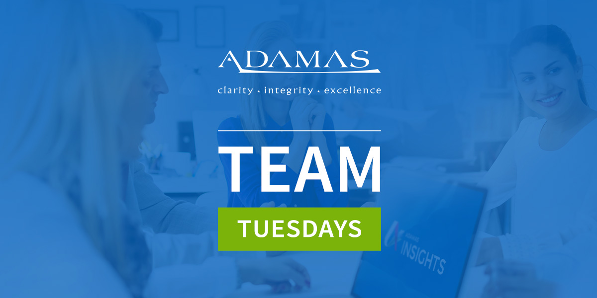 Team Tuesdays: Why ADAMAS's people are our most valuable asset