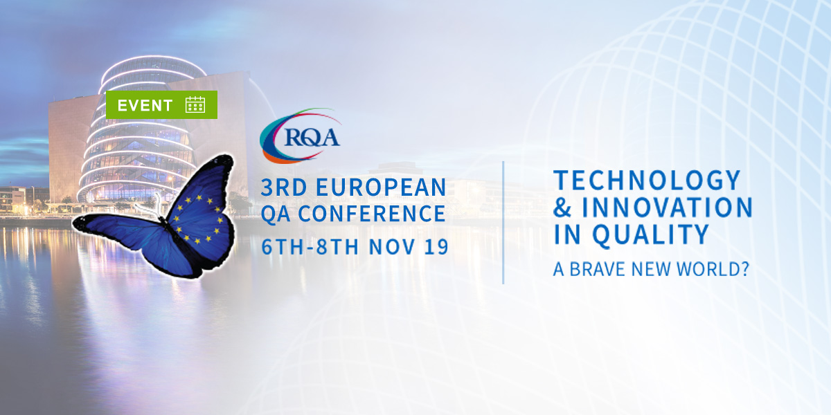 Come and meet ADAMAS Consulting at the RQA European QA Conference, Dublin