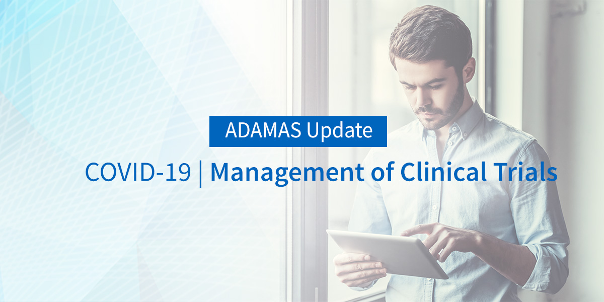 COVID-19   Guidance on the Management of Clinical Trials